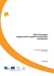 Návrh koncepce Integrovaného systému kariérového poradenství