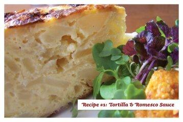 Recipe #1: Tortilla & Romesco Sauce - Cava