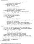 Oral history questionnaire - The Observer - Page 3