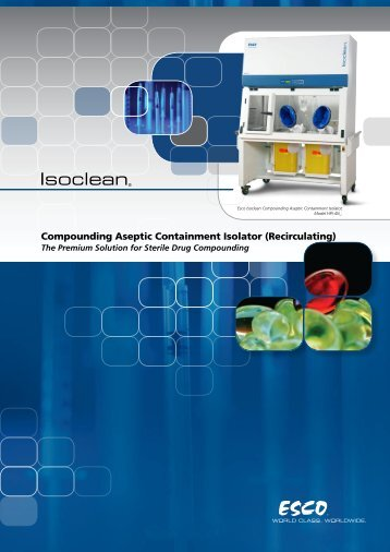 Compounding Aseptic Containment Isolator (Recirculating)