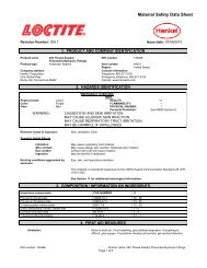 Material Safety Data Sheet - Amerex Corporation