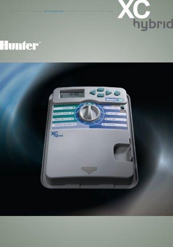 turbine statici valvole programmatori sensori ... - Hunter Industries