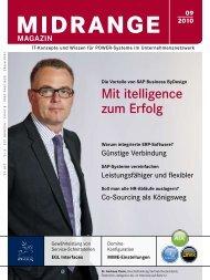 Mit itelligence zum Erfolg - Midrange Magazin