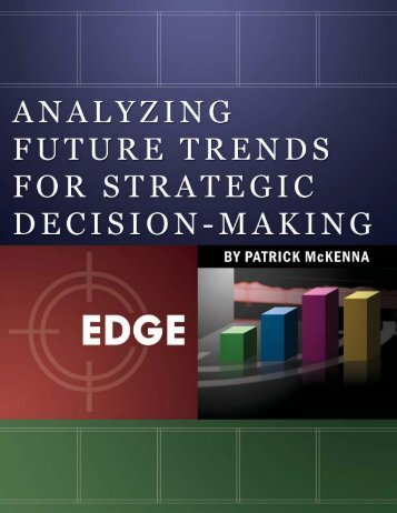 Download Analyzing Future Trends for Strategic Decision Making in
