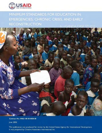 Minimum Standards For Education In Emergencies, Chronic ... - INEE