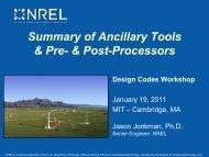 Design Codes PreComp - NREL