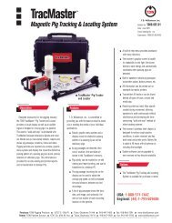 Magnetic Pig Tracking & Locating System - T.D. Williamson, Inc.