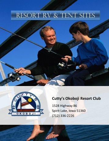 RESORT RV & TENT SITES - Cutty's Okoboji Resort Club