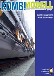 Feine Güterwagen Made in Germany - Fertigmodelle