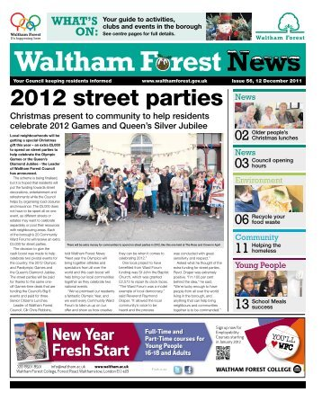 Issue 56: 2012 street parties - Waltham Forest Council
