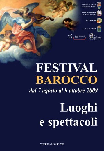 Brochure 32 pagine - Provincia di Viterbo