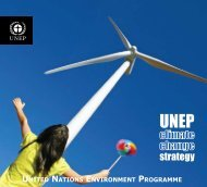 Climate Change Strategy - UNEP