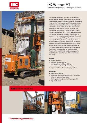 IHC Vermeer MT - AGD Equipment