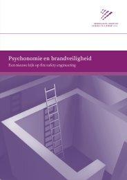 Psychonomie en brandveiligheid. Een nieuwe kijk op fire ... - NIFV