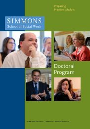 Doctoral Program - Simmons College