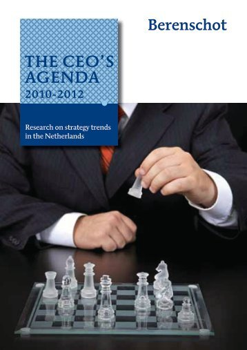 THE CEO'S AGENDA - Business Strategies