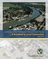 DWR Handbook for Local Communities - Hazard Mitigation Web Portal