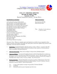 Board of Directors Meeting Minutes (Sep. 2004) - ITS Midwest