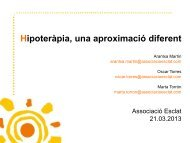 Hipoteràpia - Associació Esclat