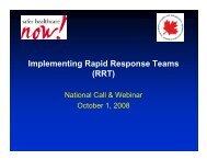 RRT - Communities of Practice