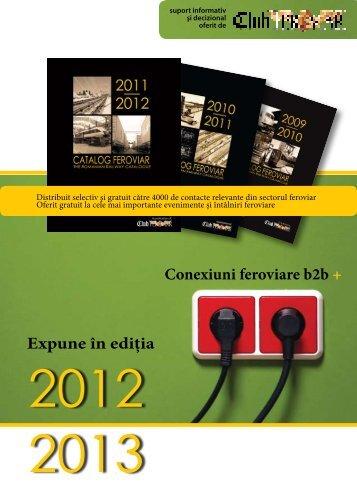 Expune în ediţia - Catalog Feroviar - Club Feroviar