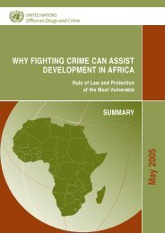 Why Fighting Crime Can Assist Development in Africa - Woodrow ...