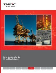 Drive Solutions for the Oil and Gas Industry - Tmeic.com