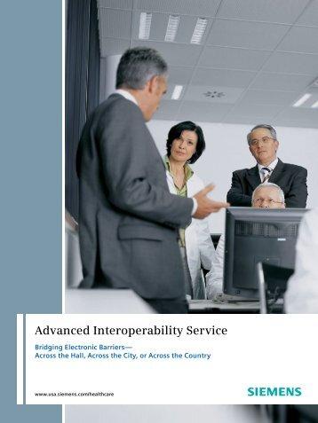 Advanced Interoperability Service - Siemens Healthcare
