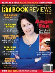 Historical Romance Ratings - RT Book Reviews