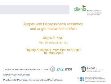 Ängste und Depressionen verstehen und angemessen behandeln ...
