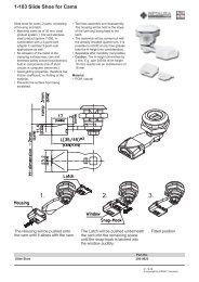 1-103 Slide Shoe for Cams