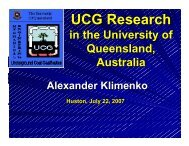 UCG Research