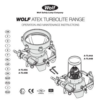 16124 atex turbolite multi text 2011 - Wolf Safety Lamp Company