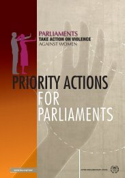Parliaments take action ON VIOLENCE AGAINST WOMEN - Inter ...
