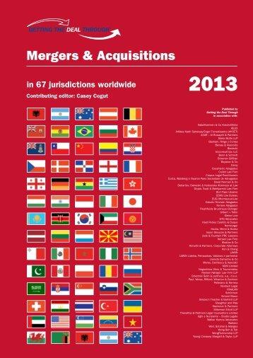 Mergers & Acquisitions - Mackrell International