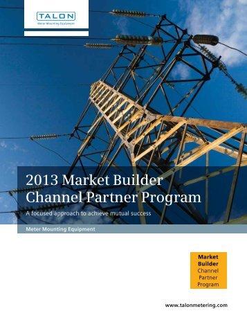 2013 Market Builder Channel Partner Program - Siemens Industry, Inc.