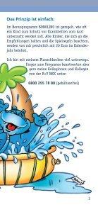 BONOLINO Das Kinder-Bonusprogramm - R+V Betriebskrankenkasse - Seite 3