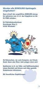 BONOLINO Das Kinder-Bonusprogramm - R+V Betriebskrankenkasse - Seite 5