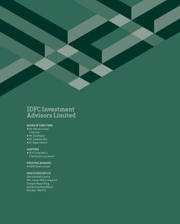 IdfC Investment Advisors Limited