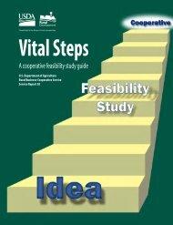 Cooperative Feasibility Study Guide - USDA Rural Development ...
