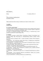 Ühisveevärgi ja -kanalisatsiooni kasutamise eeskir
