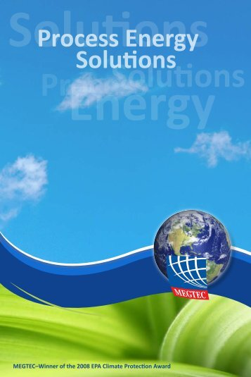 solutions to save energy in your process. - Megtec Systems