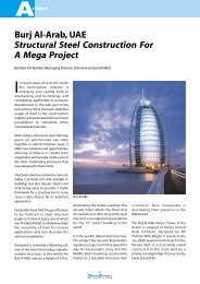 Burj Al-Arab, UAE Structural Steel Construction For A Mega Project