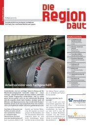 Lesen Sie die Ausgabe vom Juni 2013 - Baukoma AG