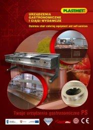 Katalog urządzeń gastronomicznych i ciągów wydawczych - Plastmet