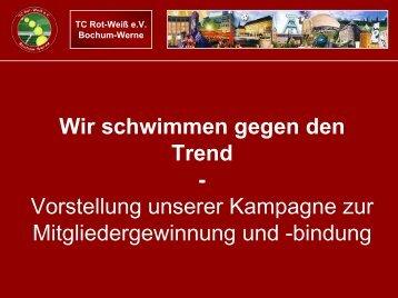 bindung - TC Rot-Weiß Bochum Werne e.V