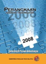 perangkaan pengajian tinggi malaysia tahun 2008 - Kementerian ...