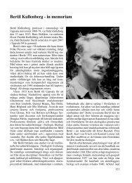 Bertil Kullenberg 1913-2007 Till Minne - Sveriges entomologiska ...