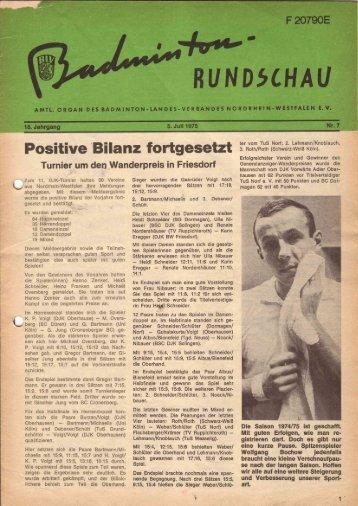 Nr. 7 Juli 1975 - (BLV-NRW) www