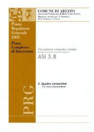 3.2 vincoli sovrordinati - Comune di Arezzo